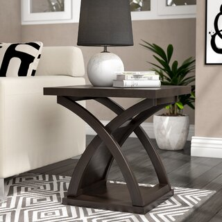 Annica End Table by Wade Logan SKU:AD414628 Description