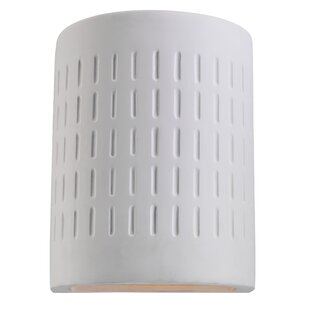Reviews Hektor 1-Light LED Outdoor Flush Mount By Latitude Run