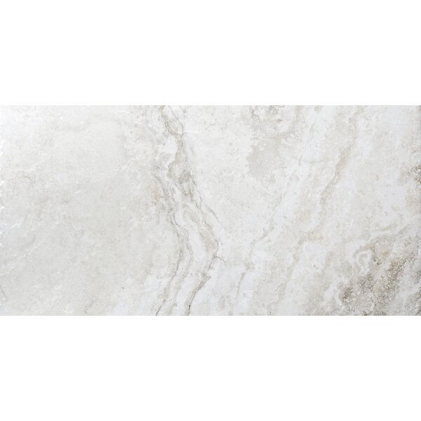 Gateway 12 x 24 Porcelain Field Tile in Avorio by Emser Tile
