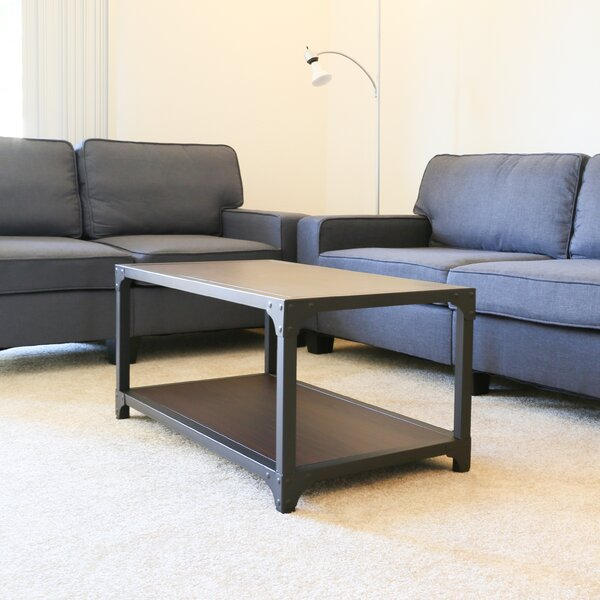 Mckay Base Coffee Table by 17 Stories