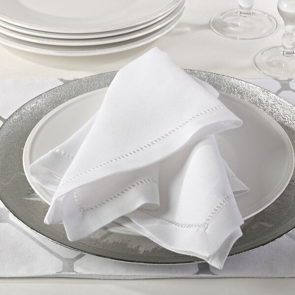 Winnetka Hemstitch Border Dinner Napkin (Set of 12