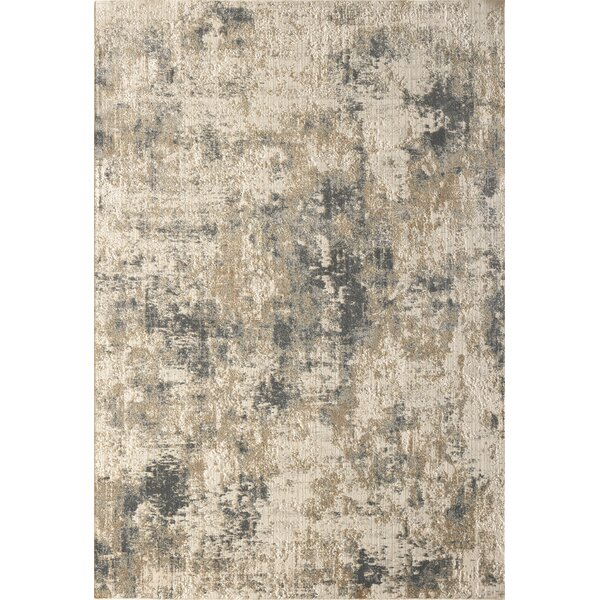 Mulvihill Beige/Gray Area Rug by Williston Forge