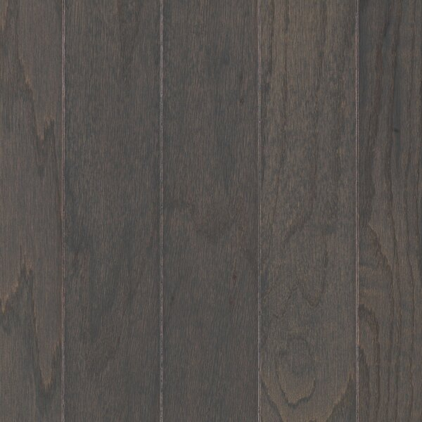 Palacio Random Width Engineered Oak Hardwood Flooring in Charcoal by Mohawk Flooring