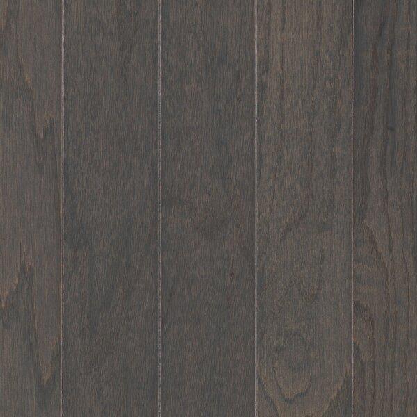 Palacio Random Width Engineered Oak Hardwood Flooring in Charcoal by Mohawk Flooring