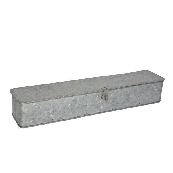 Galvanized Iron Planter Box by BIDKhome