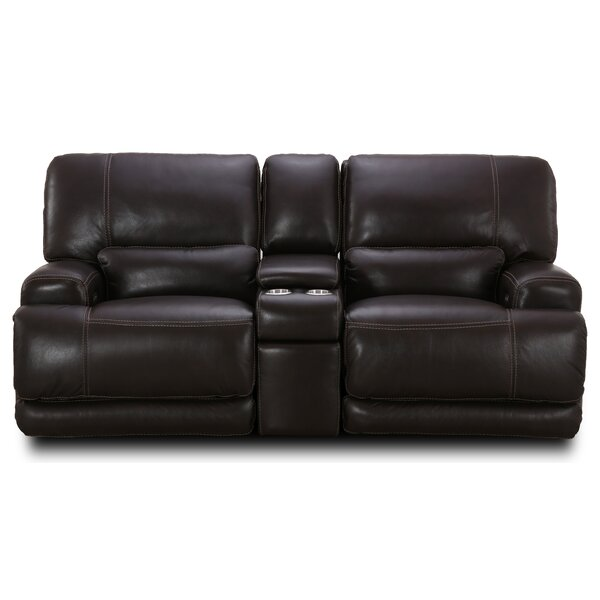 Cheapest Price For Vandewa Reclining Loveseat by Winston Porter by Winston Porter