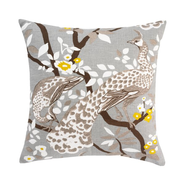 Weatherby Dove Pillow Cover by DwellStudio