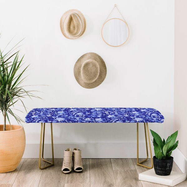 Jacqueline Upholstered Bench by East Urban Home East Urban Home