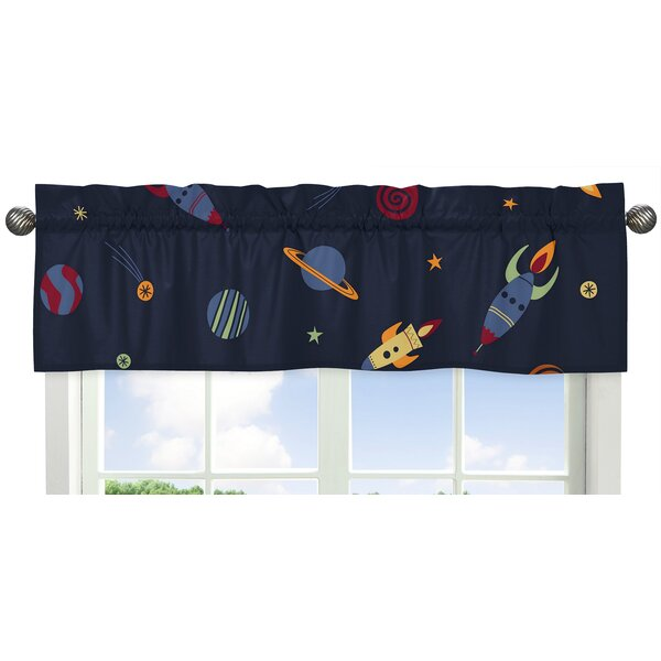 Space 54 Galaxy Curtain Valance by Sweet Jojo Designs