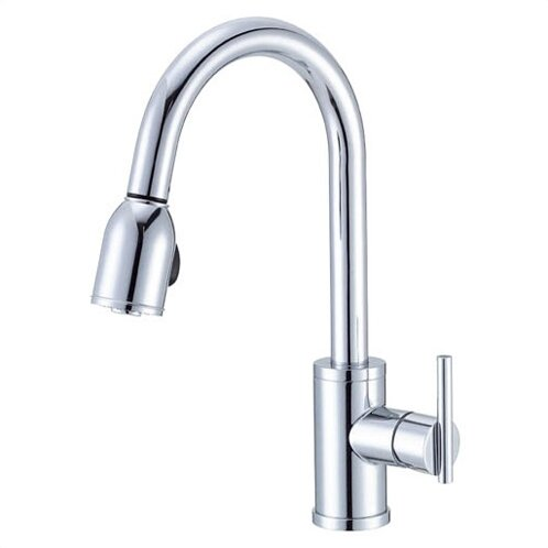 Parma Pull Down Single Handle Kitchen Faucet by Danze®