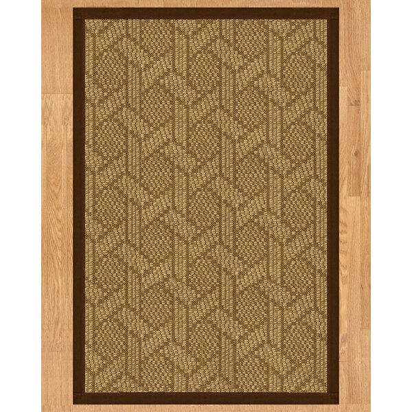 Seattle Hand Crafted Brown Area Rug by Natural Area Rugs