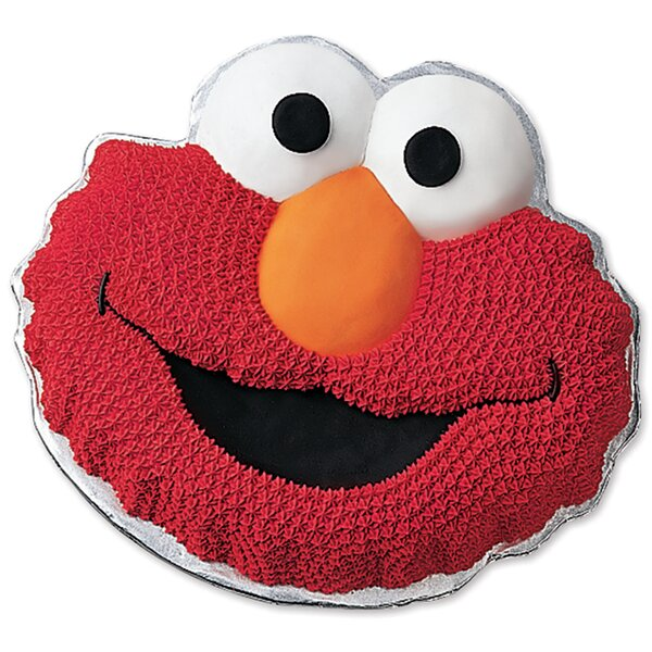 Elmo Face Novelty Cake Pan by Wilton