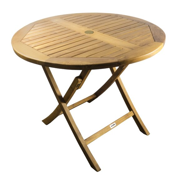 Gavyn Solid Wood Bistro Table by Bay Isle Home