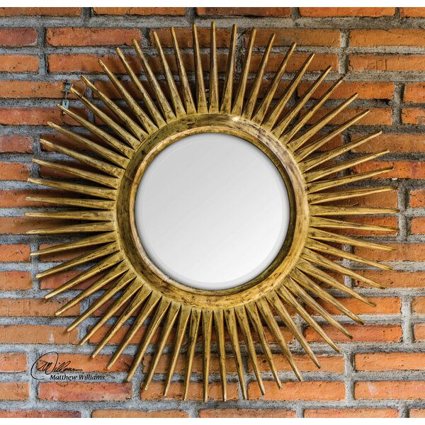 Christiansen Destello Starburst Accent Mirror by Mercer41