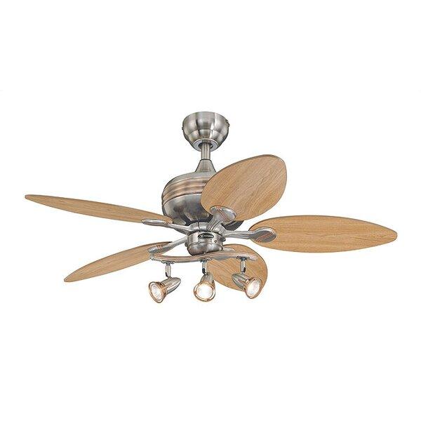 Castleford 44 Ridgeway 5 Blade Ceiling Fan by Andover Mills