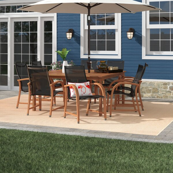 Ely 9 Piece Dining Set by Beachcrest Home