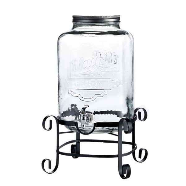 Draco 2 Piece Beverage Dispenser Set by Gracie Oaks