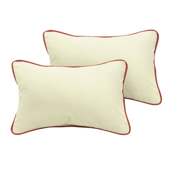 Cowley Sunbrella Outdoor Lumbar Pillow (Set of 2) by Red Barrel Studio