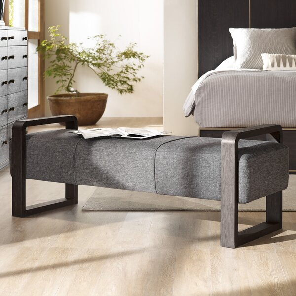Curata Upholstered Bench by Hooker Furniture