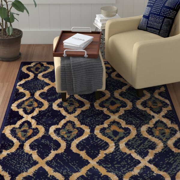 Colena Blue Area Rug by Red Barrel Studio