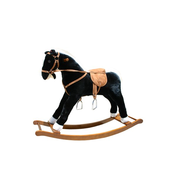 Large Rocking Horse with Sound Effects by Alexander Taron