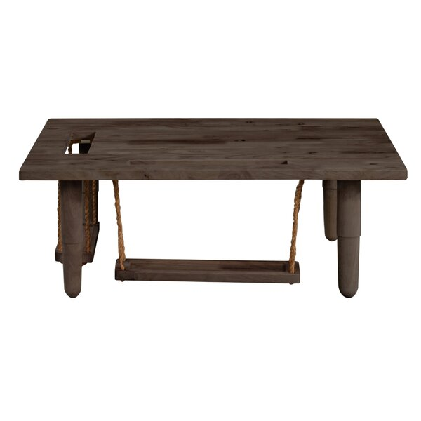 Lakendra Solid Wood Coffee Table By Bungalow Rose