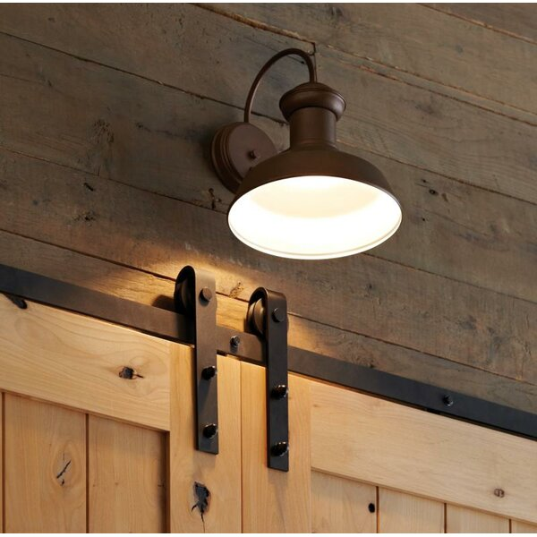 Vallie LED Outdoor Barn Light by Laurel Foundry Modern Farmhouse