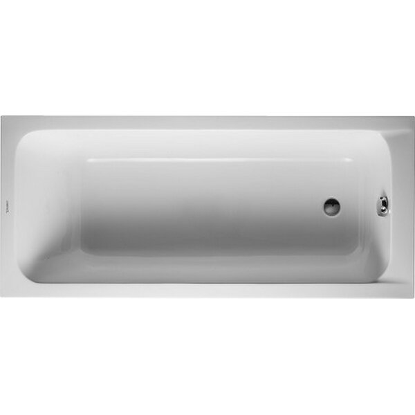 D-Code 63 x 27.5 Soaking Bathtub by Duravit