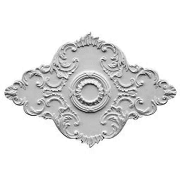 Piedmont 48 5/8H x 67 1/8W x 1 7/8D Ceiling Medallion by Ekena Millwork