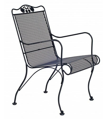Briarwood High Back Patio Chair by Woodard