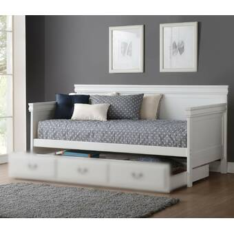 Alcott Hill Amoll Twin Solid Wood Daybed Wayfair
