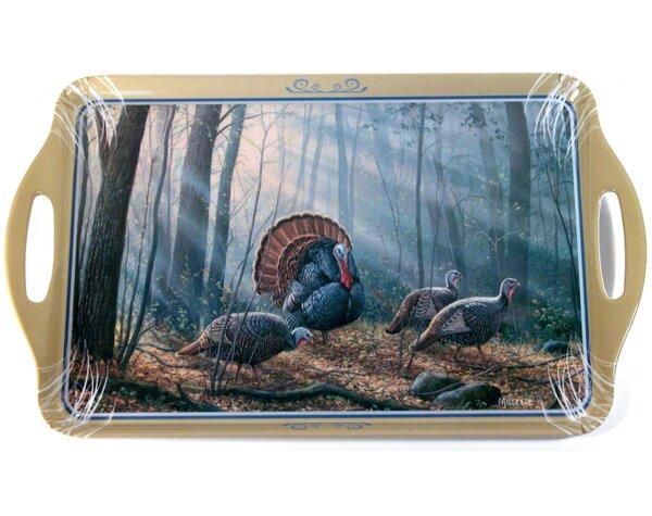 Melamine Turkeys Serving Tray by MotorHead Products