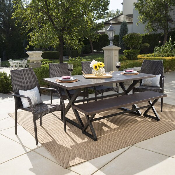 Olhouser 6 Piece Dining Set by Gracie Oaks