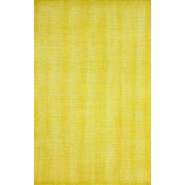 Zem Wynona Hand-Knotted Wool Gold Area Rug by nuLOOM