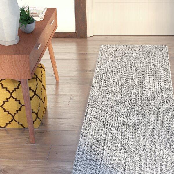 Kulpmont Gray Indoor/Outdoor Area Rug by Wade Logan