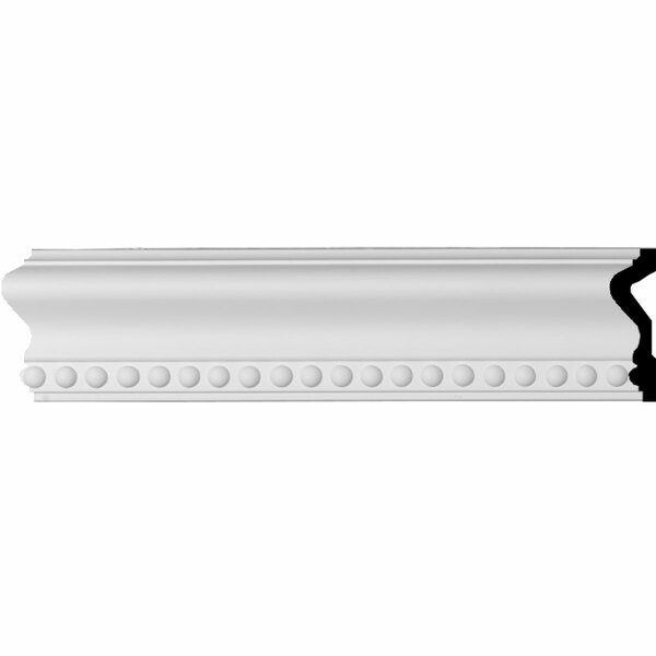 Edwards 2 3/4H x 96W x 1D Chair Rail Moulding by Ekena Millwork