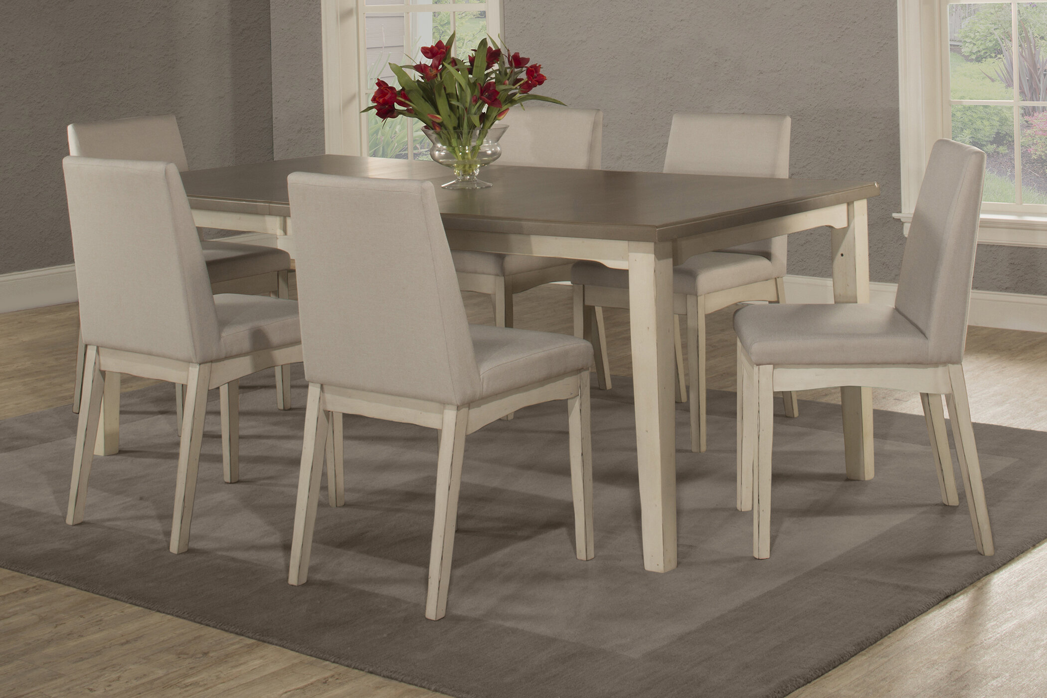 Attrayant Rosecliff Heights Kinsey 7 Piece Removable Leaf Dining Set U0026 Reviews |  Wayfair