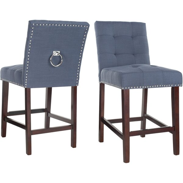 Rumi 26.5 Bar Stool (Set of 2) by Darby Home Co