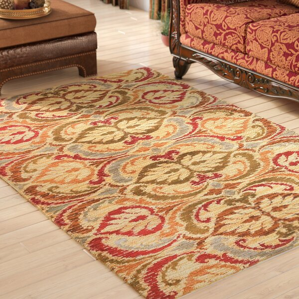 Ikin Gold Firenze Area Rug by Astoria Grand