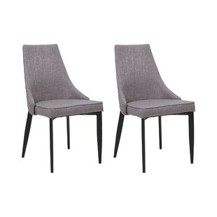 Kaitlin Quilted Back Fabric Dining Chair ...