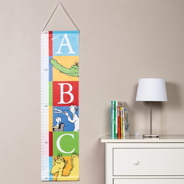 Dr. Seuss Alphabet Seuss Growth Chart by Trend Lab