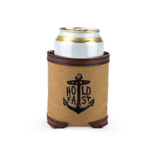 Waxed Canvas Drink Holder Cooler by Foster & Rye