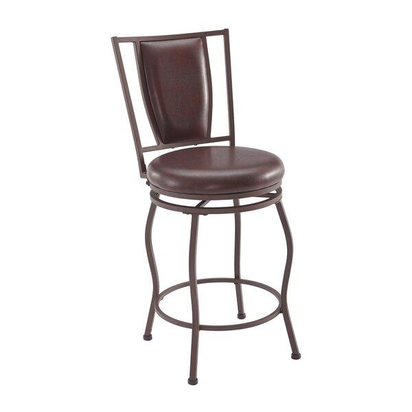 Alivia Adjustable Height Bar Stool (Set of 3) by Fleur De Lis Living