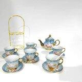 20 PCS Tea Set Ceramics Tea Set Afternoon Tea Set Adult Tea Set Gift Tea Set Can Drink Coffee Strong Tea
