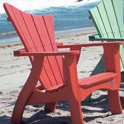 Wave Wood Adirondack Chair by Uwharrie Chair