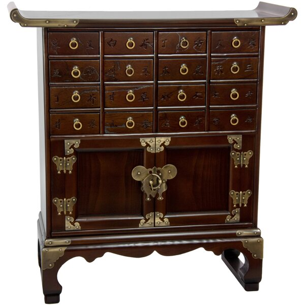 Colston 16 Drawer Medicine Accent Chest by Bloomsbury Market Bloomsbury Market
