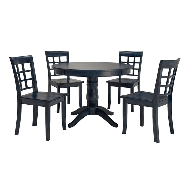 Alverson 5 Piece Dining Set by August Grove August Grove