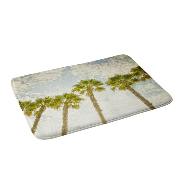 Palm Tree Bath Rug by East Urban Home