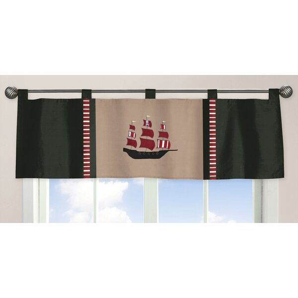 Pirate Treasure Cove 54 Curtain Valance by Sweet Jojo Designs