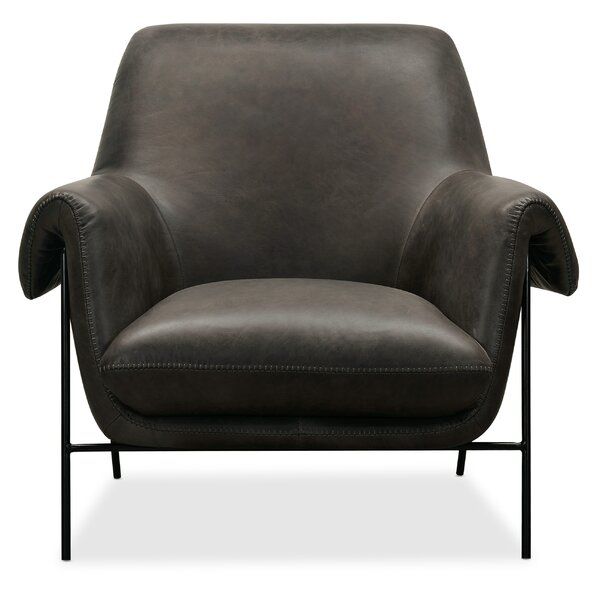 Ambroise Metal Frame 23-inch Club Chair by Hooker Furniture Hooker Furniture